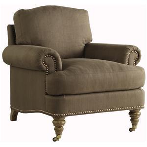 Lillian August Custom Upholstery Fairchild Chair