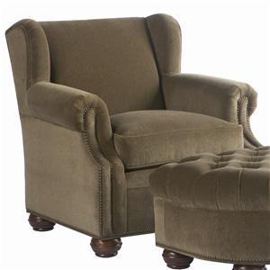 Lillian August Custom Upholstery Dover Chair