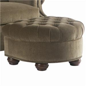 Lillian August Custom Upholstery Dover Ottoman