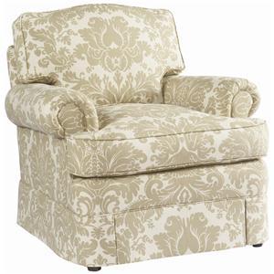 Lillian August Custom Upholstery Carnegie Chair