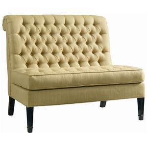 Lillian August Custom Upholstery Orleans Settee