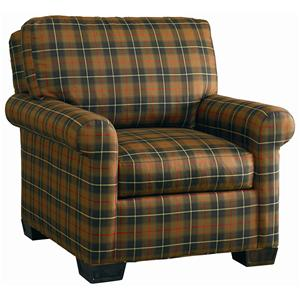 Lillian August Custom Upholstery Burton Chair