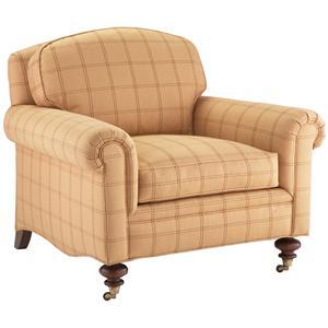 Lillian August Custom Upholstery Turner Chair