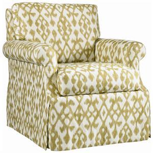 Lillian August Custom Upholstery Baroness Chair