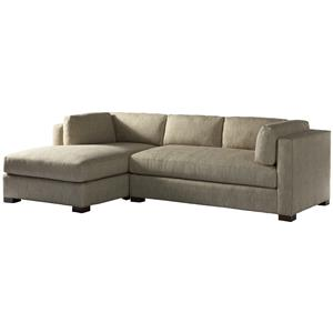 Lillian August Custom Upholstery Sloane Right Arm Sectional Sofa