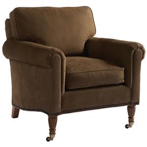 Lillian August Custom Upholstery Eldon Chair