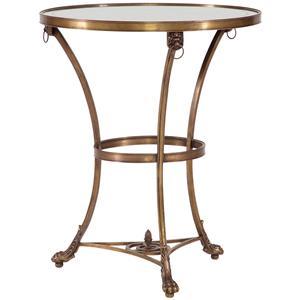 Lillian August Wood Partridge Café Table