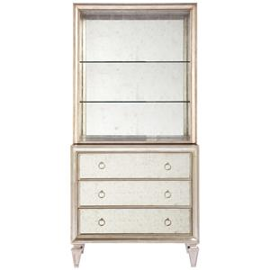 Lillian August Wood Blackwell Chest & Bookcase Topper