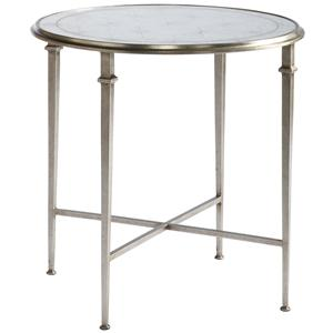 Lillian August Wood Barlow Round End Table