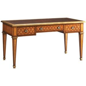 Lillian August Wood Charles Marquetry Desk