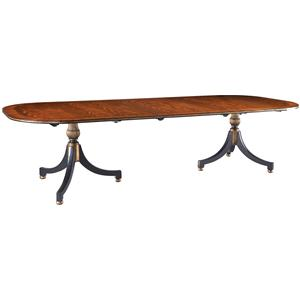 Lillian August Wood Wessex Double Pedestal Dining Table