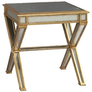 Lillian August Wood Tiverton Lamp Table
