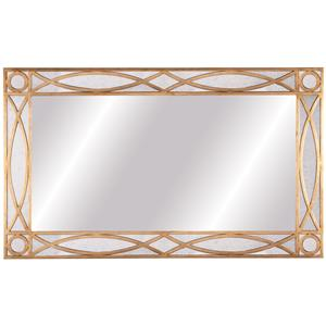 Lillian August Wood Knox Floor Mirror