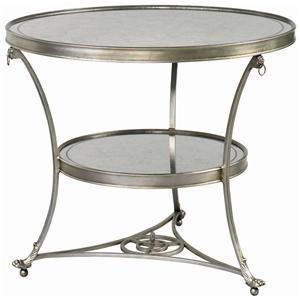 Lillian August Wood Moulin Table