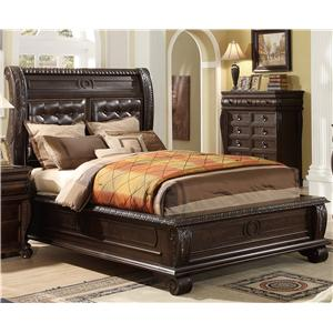 Your Direct Imports, Inc. Hillsboro King Panel Bed