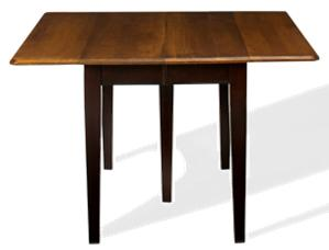 American Amish Saber Solid Maple Drop Leaf Table