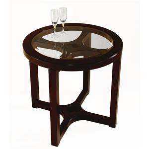 Magnussen Home Juniper Round End Table