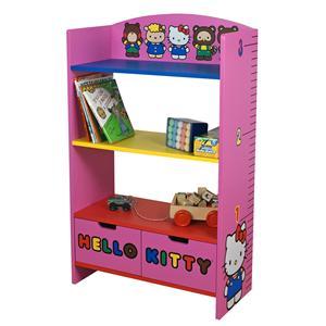 Najarian Hello Kitty Youth Bedroom Hello Kitty Measure-Me Bookcase