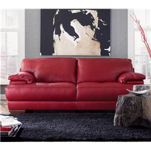 Natuzzi Editions B504 Leather Sofa