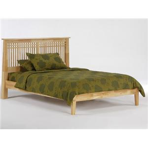 NE Kids Spice Natural Full Spice Solstice Bed