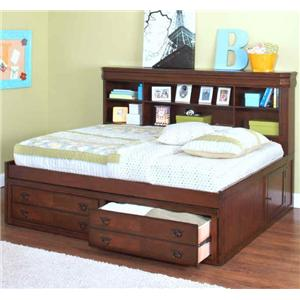 New Classic Sheridan Full Youth Lounge Bed