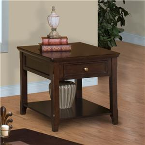 New Classic Timber City  End Table