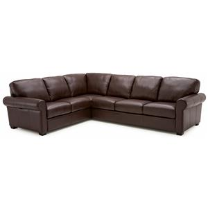 Palliser Magnum 2 pc. Sectional Sofa with LHF Sofa Split
