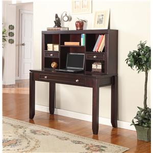 "Parker House Boston 47"" Writing Desk and Hutch"
