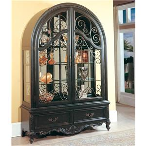 Parker House Palazzo  2-Piece Collector's Cabinet
