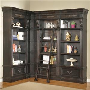Parker House Palazzo  5 Piece Museum Bookcase