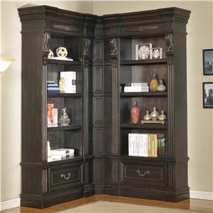 Parker House Palazzo  3 Piece Museum Bookcase