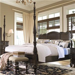 Universal Home Queen Savannah Poster Bed