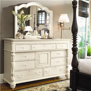 Paula Deen by Universal Paula Deen Home Door Dresser & Decorative Mirror