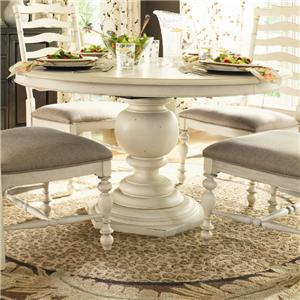 Paula Deen by Universal Paula Deen Home Round Pedestal Table