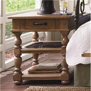 Paula Deen by Universal Down Home Drawer End Table