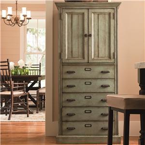 Paula Deen by Universal Down Home Paula's Kitchen Organizer Cabinet