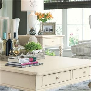 Paula Deen by Universal Paula Deen Home Rectangular End Table