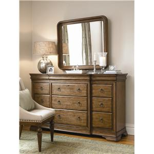 Pennsylvania House New Lou Dresser and Mirror Combo