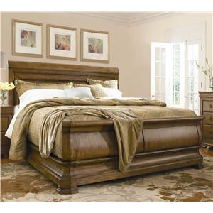 Pennsylvania House New Lou Queen Louie P's Sleigh Bed