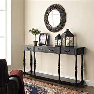 Powell Miscellaneous Black Console