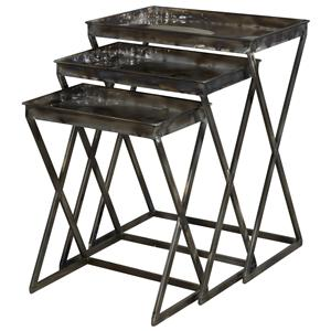 Powell Miscellaneous Metal Nesting Tables