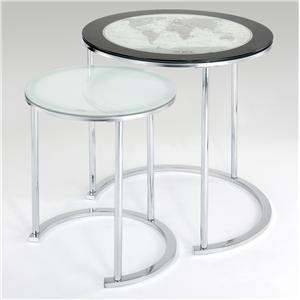 Powell Miscellaneous Set of 2 Nesting Tables