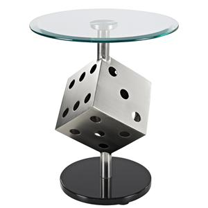 Powell Miscellaneous Snake Eyes End Table