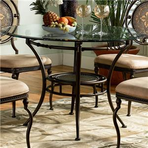 Powell Powell Cafe Antique Brown Dining Table