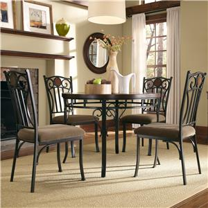 Powell Powell Cafe 5 Piece Abbey Road Dining Set