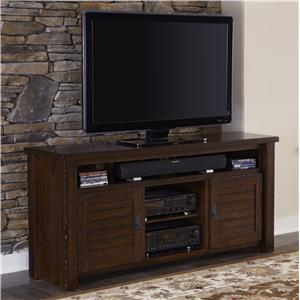 "Progressive Furniture Trestlewood 64"" Console"