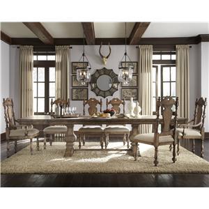 Pulaski Furniture Accentrics Home 7 Piece Table & Chair Set