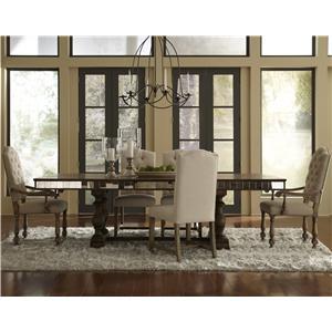 Pulaski Furniture Accentrics Home 6 Piece Table & Chair Set