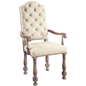 Pulaski Furniture Accentrics Home Amethea Dione Arm Chair