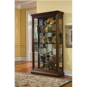Pulaski Furniture Curios Two Way Sliding Door Curio